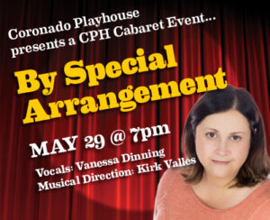 Vanessa Dinning: By Special Arrangement @ Coronado Playhouse | Coronado | California | United States