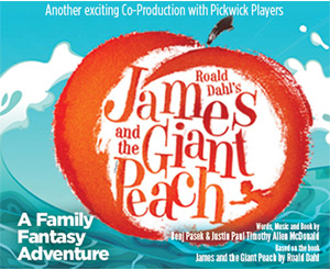 JAMES AND THE GIANT PEACH @ Coronado Playhouse | Coronado | California | United States