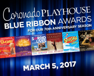 2016 BLUE RIBBON AWARDS @ Coronado Playhouse | Coronado | California | United States